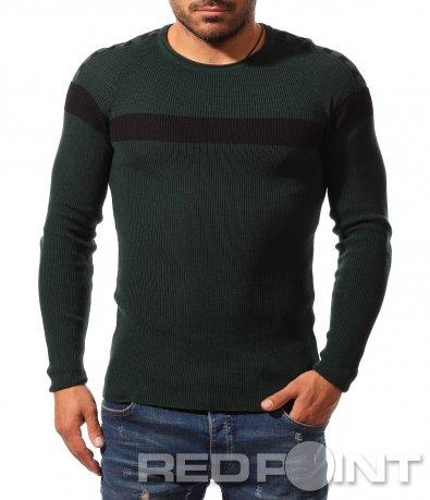 Атрактивна блуза тип плетиво 8785