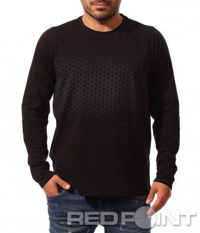 Класическа есенна блуза 8794