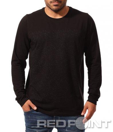 Семпла блуза с щампа 8795