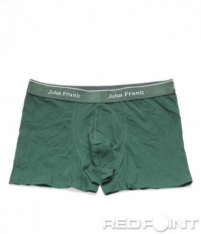 Едноцветни боксерки JohnFrank 8836