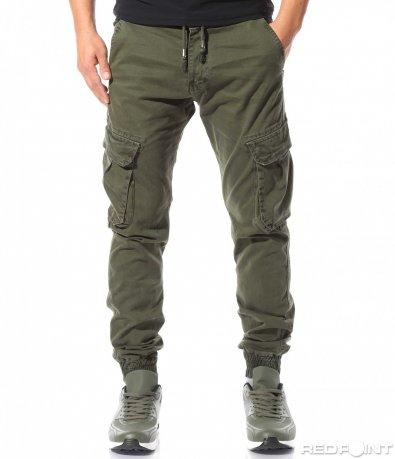 Небрежен панталон с джобове 8850