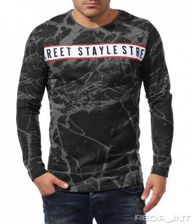 Супер ефектна есенна блуза 8450