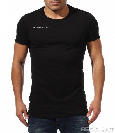 Класическа тениска с къс ръкав 8894