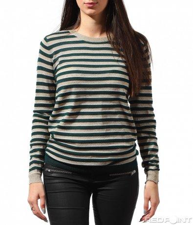 Свежа ежедневна блуза 8882