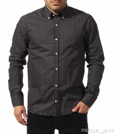 Стилна риза с орнаменти 8898
