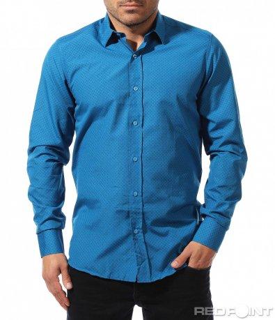 Светло синя риза с орнаменти 8900