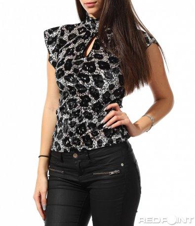 Елегантна блуза без ръкав 8910