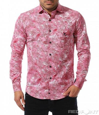 Авангардна вталена риза 8905