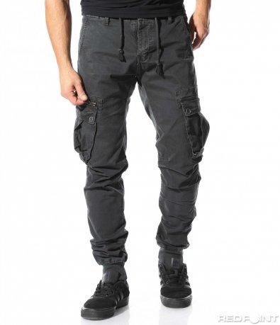 Ефектен панталон с джобове 8934