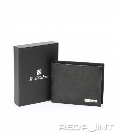 Изчистен черен портфейл 8955
