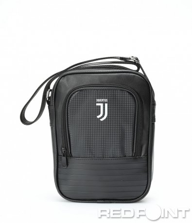 Детайлна черна чанта Juventus 8979