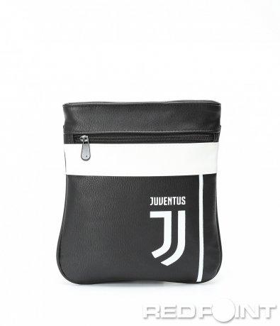 Черно бяла чанта Juventus 8981