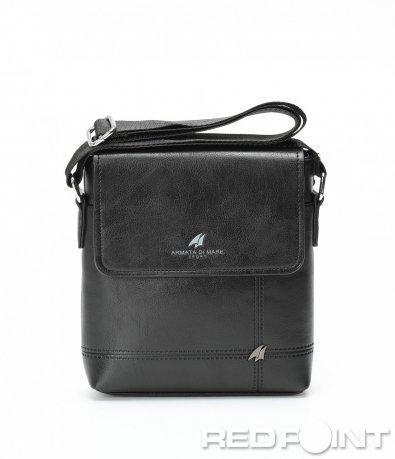 Класическа чанта в черен цвят 8993