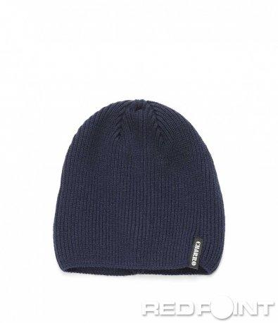 Тъмно синя зимна шапка 9000