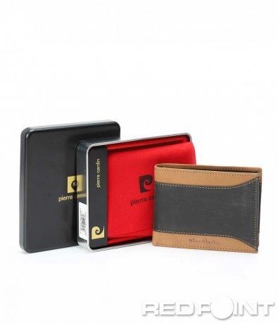 Кафяво портмоне с мотив 9025