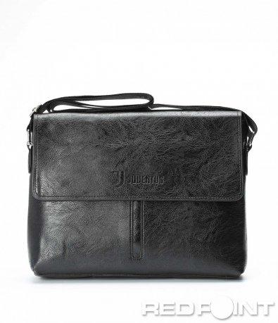 Кожена чанта тип куфарче 9031