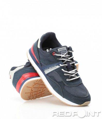 Спортни тъмно сини маратонки 9092