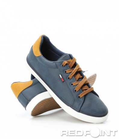 Ефектни обувки с велур 9088