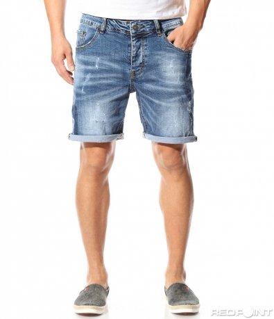 Класически дънкови панталонки 9111