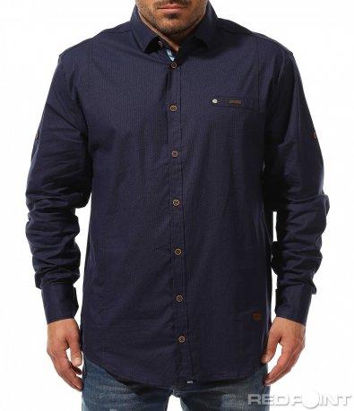 Практична риза със семпъл дизайн 9188