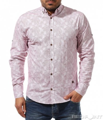 Вталена риза с орнаменти 9192