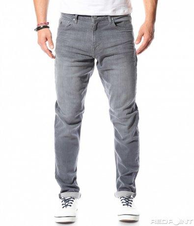 Класически дънки в сив цвят 9201