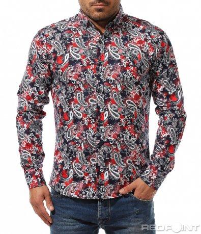 Пъстра пролетна риза 9262