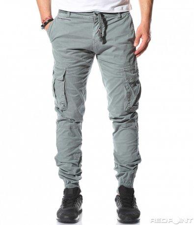 Ежедневен панталон с джобове 9265
