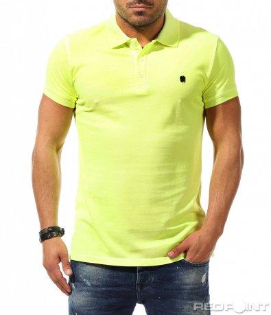 Ексцентрична тениска с яка 9288