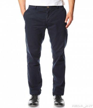 Тъмно син класически панталон 9291