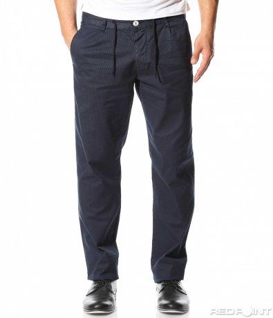 Спортно елегантен панталон с връзки 9321