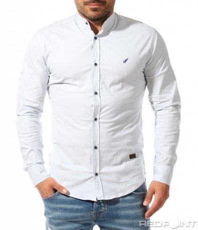 Стилна риза с вталена кройка 9337