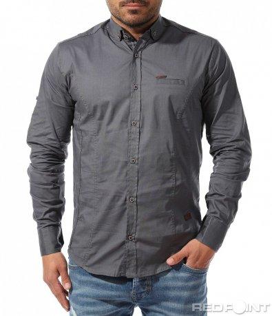 Класическа памучна риза 9339