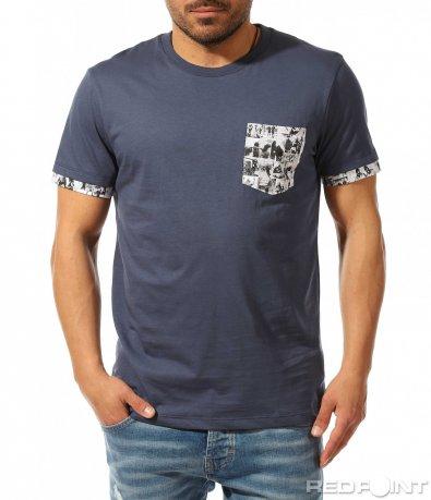 Свежа лятна тениска с джоб 9340