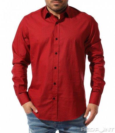 Класическа риза с vintage орнаменти 9344