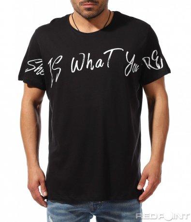 Клубна тениска в големи размери 9355
