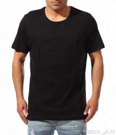 Изчистена тениска с щампа 9357