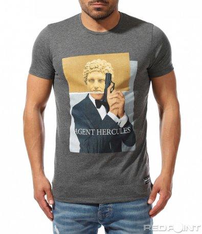 Оригинална тениска с апликация 9361
