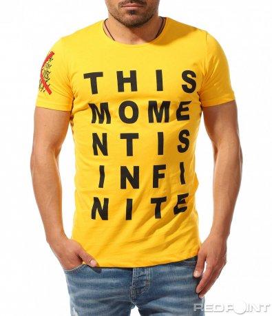 Лятна тениска с надписи 9363