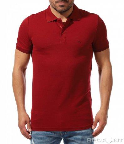 Поло тениска в пастелен цвят 9370