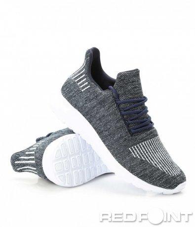 Спортни маратонки с текстилна материя 9395