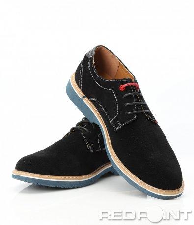 Официални обувки от еко набук 9401