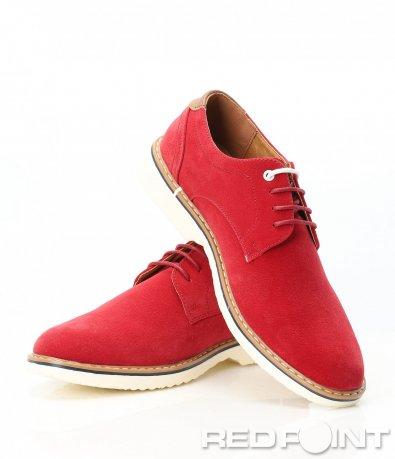 Елегантни обувки от еко набук 9402