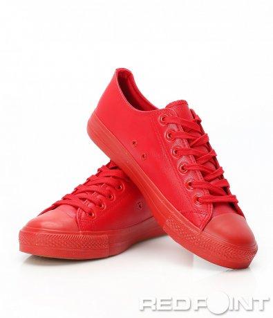 Ярко червени спортни кецове 9412