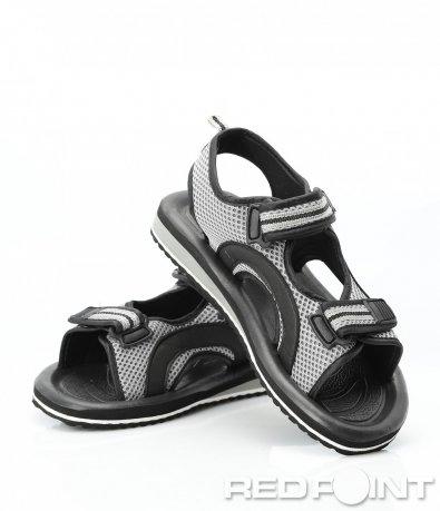 Летни сандали с цветен кант 9413