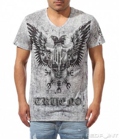Лятна тениска с голяма щампа 9433