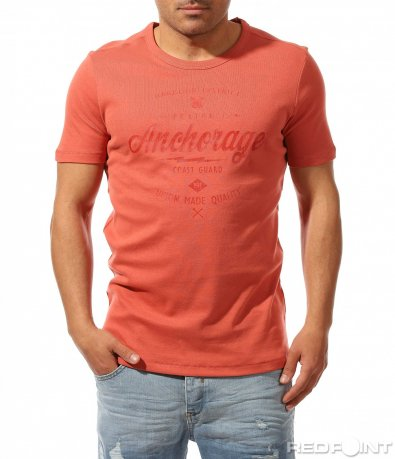 Ежедневна тениска с надпис 9447