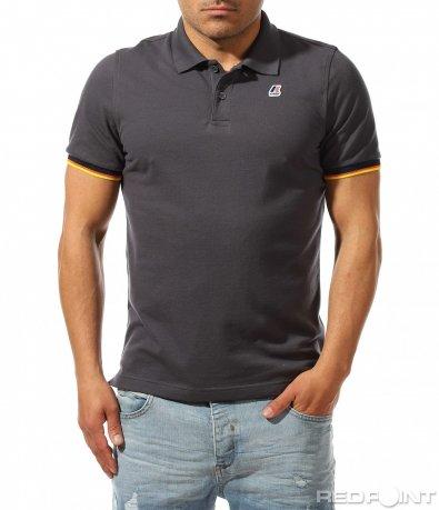 Едноцветна поло тениска 9459
