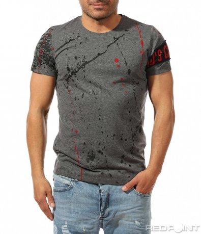 Оригинална тениска с пръски от боя 9469