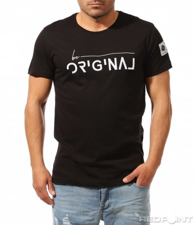 Семпла лятна тениска с акцент 9293